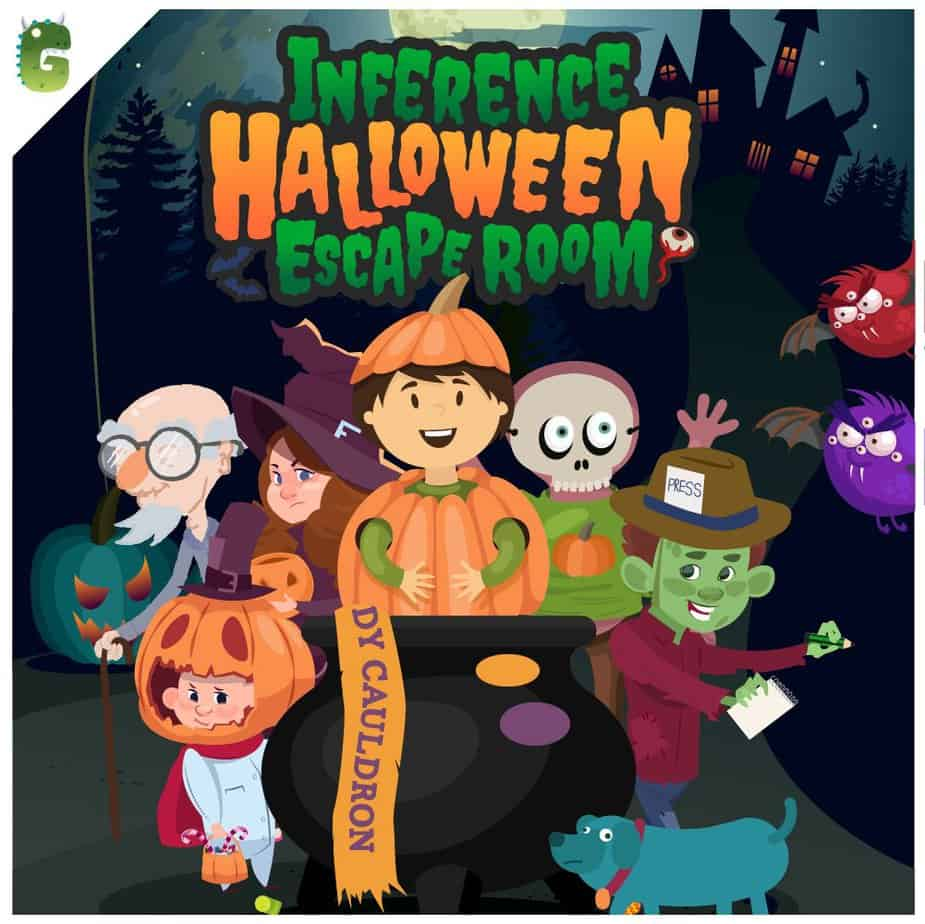 Cover of the GameWise Halloween Inference Escape Room